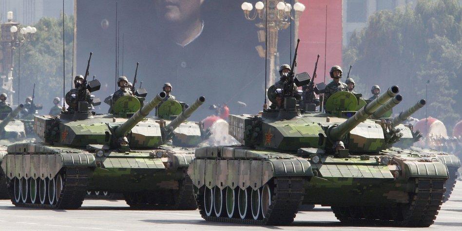 Militärausgaben wie im Kalten Krieg