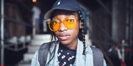 Rapperin Little Simz