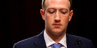 """EU-Politiker zur Zuckerberg-Anhörung: """"Sonst machen wir nicht mit"""""""