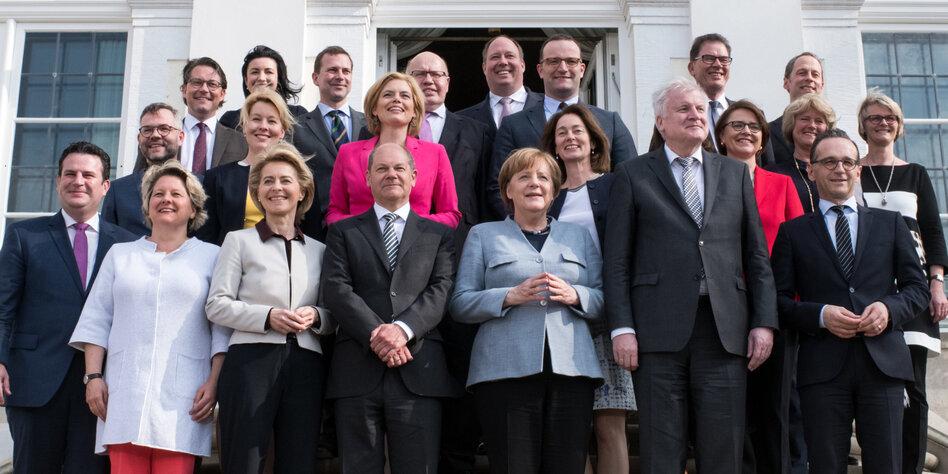 Kabinett Merkel 4
