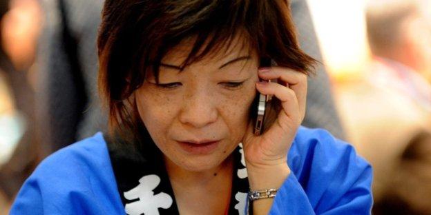 Japanerin Besorgt Es Sich Selbst