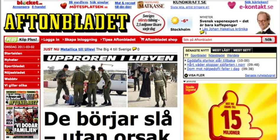 schwedische zeitung aftonbladet online schl gt print. Black Bedroom Furniture Sets. Home Design Ideas