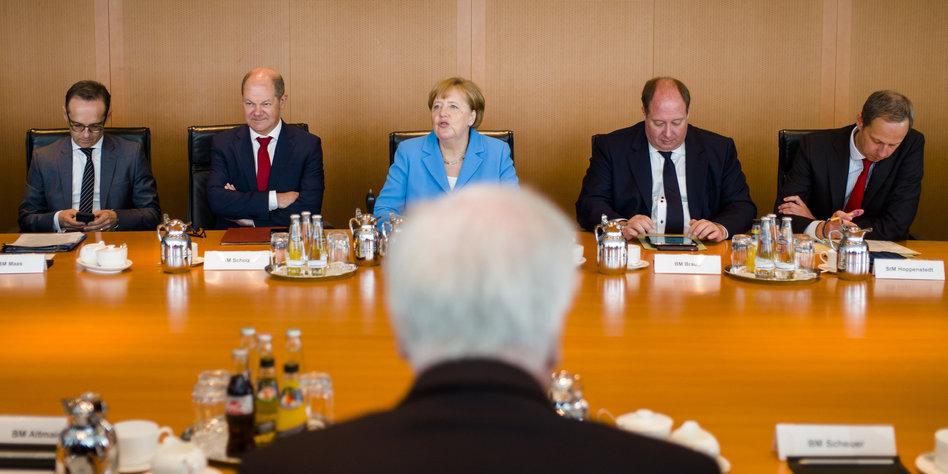 Asylstreit zwischen CDU und CSU: Druck im Kessel - taz.de