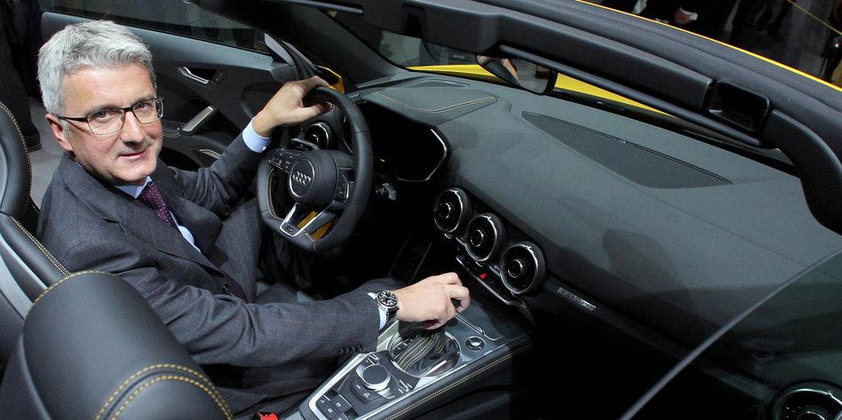 Audi Chef Festgenommen