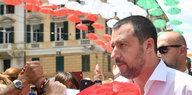 Rechter Innenminister Italiens: Matteo Salvini will Roma zählen