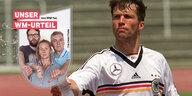 WM-TAZ KNALLHART: Lothar fühlt sich unwohl in Schland
