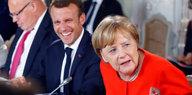 Kommentar Merkel, Macron und die EU: Einigung auf das Naheliegende