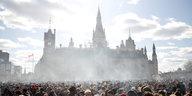 Die Regierung Trudeau legalisiert Kiffen: Cannabis in Kanada erlaubt