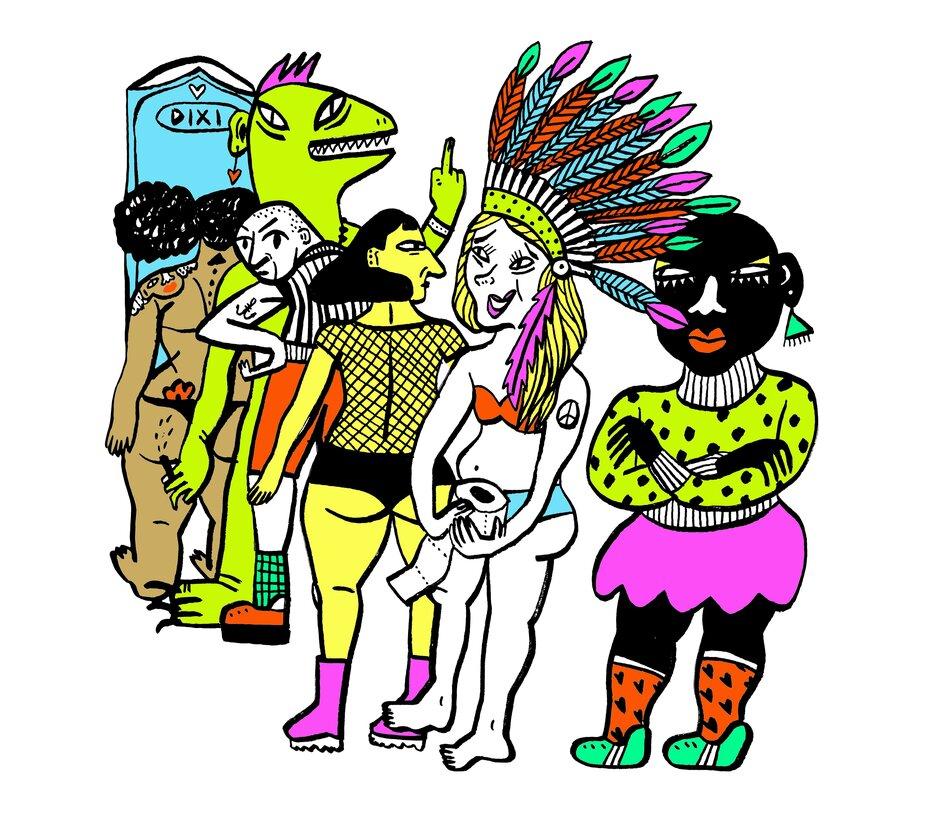 Ficken auf festival