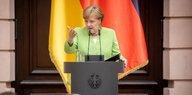 Kommentar Die Kanzlerin: Sie tut wenigstens etwas