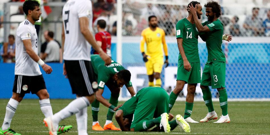 Saudi Arabien Gegen ägypten