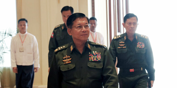 General Min Aung Hlaing in Uniform
