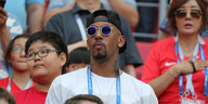 Jerome Boateng mit Sonnenbrille