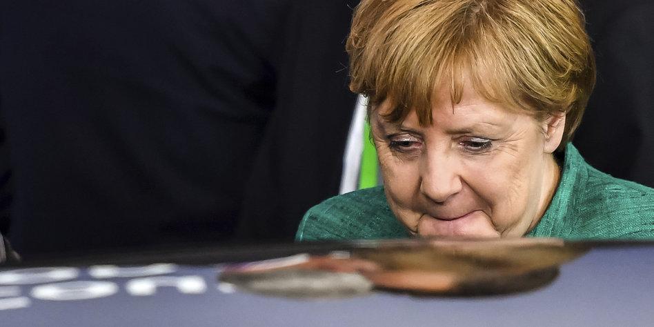 Merkel: Migration könnte zur
