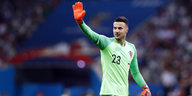 Torwart Danijel Subasic