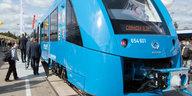E-Mobilität im Schienenverkehr: Wasserstoffzug soll Dieselloks ersetzen