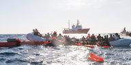 Geflüchtete aus Kühllaster gerettet: Tod auf dem Weg zum Mittelmeer