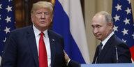 Gipfeltreffen in Helsinki: Putin-Versteher trifft Trump-Retter
