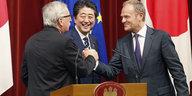 EU und Japan unterzeichnen Jefta: Handelspakt wird durchgepeitscht