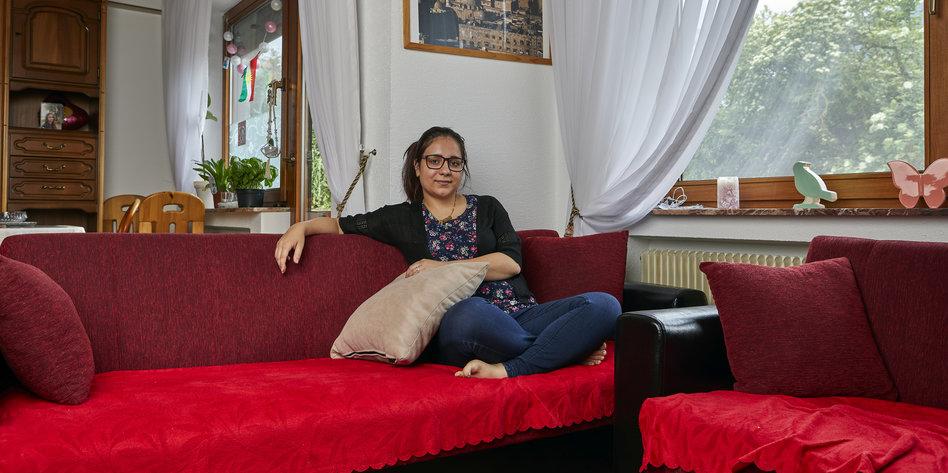 Sucht mann syrerin deutschen Hildegard schroedter