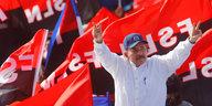 """Jahrestag der Revolution in Nicaragua: Ortega feiert Sieg über """"Putschisten"""""""