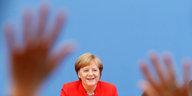 Angela Merkels Sommerpressekonferenz: Alles andere als am Ende