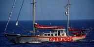 Seenotrettung von Geflüchteten: Rettungsschiff in Mallorca eingetroffen