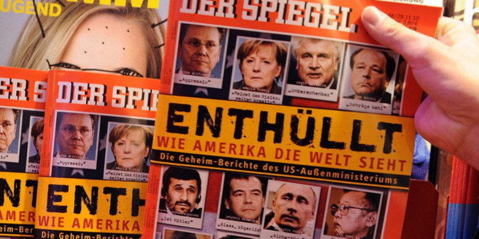 Exklusivvertrag mit dem spiegel wikileaks wird ein fall for Spiegel wochenzeitung
