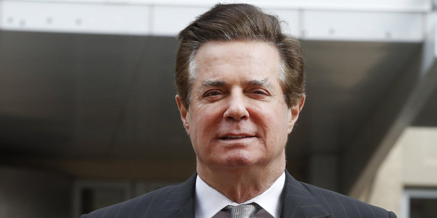 Paul Manafort lächelt