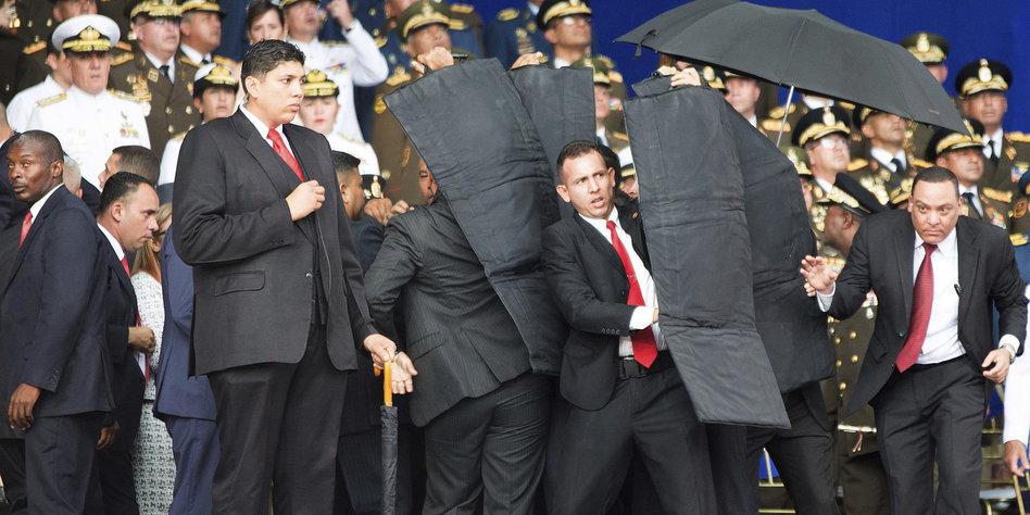 Venezuela: Sechs Festnahmen nach mutmaßlichem Attentat auf Maduro