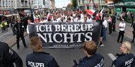 Rudolf-Heß-Demo in Berlin: Aufmarsch der Untoten