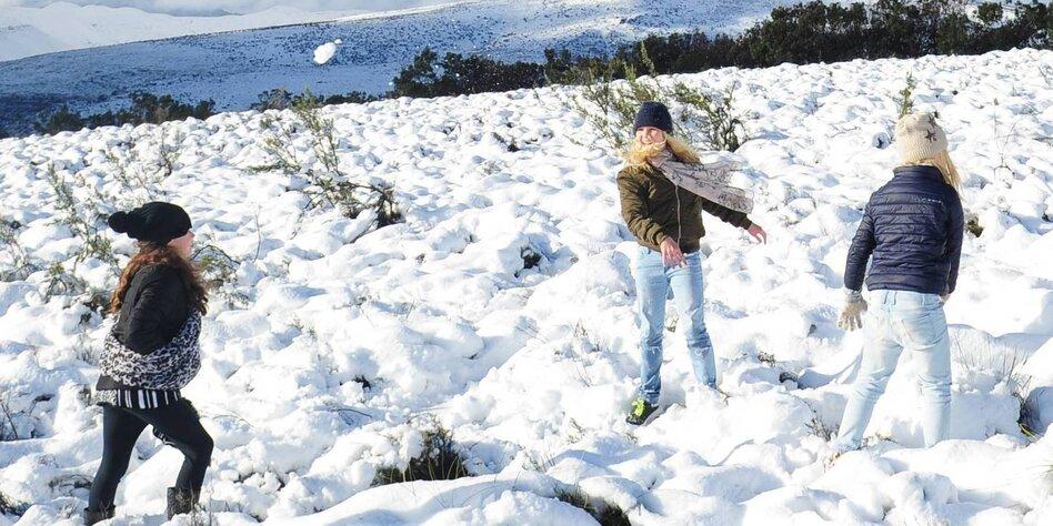 Extreme Temperaturen Weltweit Kältewelle In Südafrika Tazde