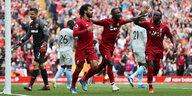 Auftakt der Premier League: Der FC Liverpool rollt los