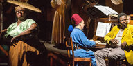 "Fotoprobe zum Musiktheater ""The Head and the Load"" unter der Regie von W. Kentridge"
