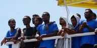 """Seenotrettung auf dem Mittelmeer: """"Aquarius"""" weiterhin auf Irrfahrt"""