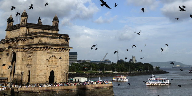 Der Gateway of India in Mumbai