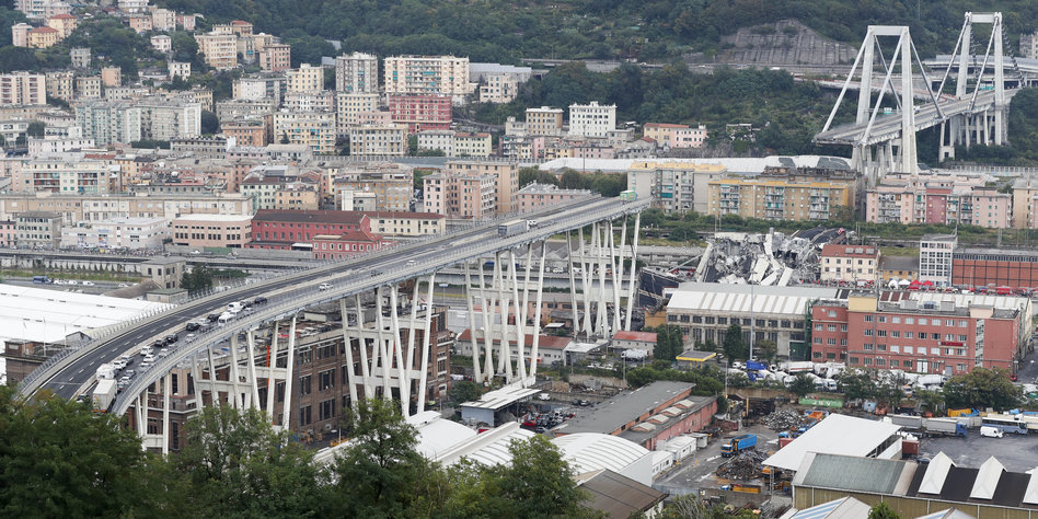 Die Schuldigen am Brückeneinsturz: Rom hat Verantwortliche ausgemacht