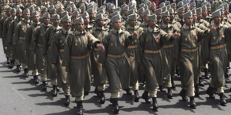 Marokko Militär
