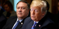 Mike Pompeo und Donald Trump