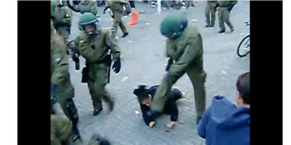 polizisten schlugen kollegen zusammen