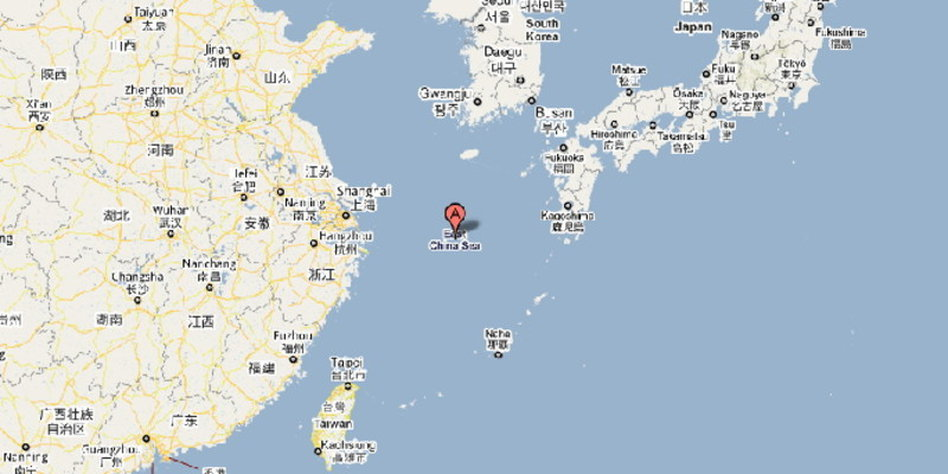 Inselstreit zwischen Japan und China: Google Maps gerät ins ...