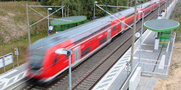 Ahrensburg Gartenholz Halteverbot Im Geisterbahnhof