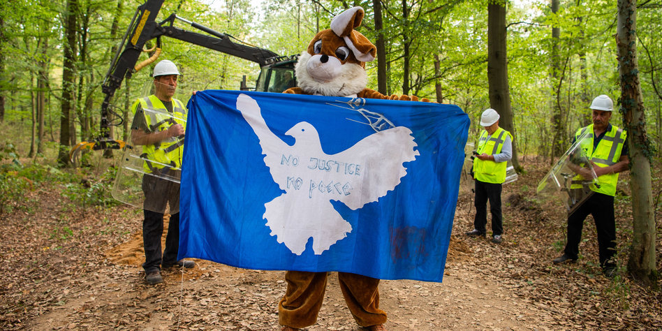 Brennpunkt Aktivisten wollen erneut in Hambacher Forst kommen Kerpen