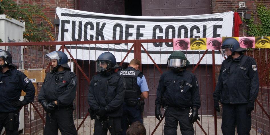 Image result for google protest berlin