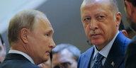 Angriff auf Idlib vorerst abgesagt: Durchbruch bei Putin und Erdoğan