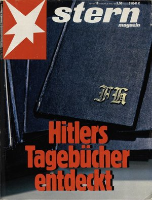 """Stern""-Cover vom 28. April 1983"