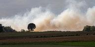 Moorbrand bei Meppen nach Raketentests: Landkreis ruft Katastrophenfall aus