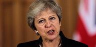 Rede der britischen Premierministerin: Brexit-Gespräche auf Eis