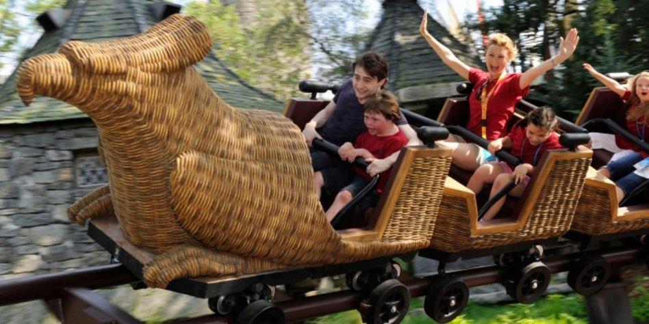 Orlando Das Paradies Fur Vergnugungsparks Harry Potters Zauberwelt Taz De