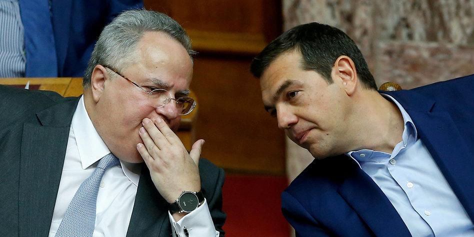 Griechischer Außenminister Nikos Kotzias zurückgetreten